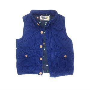 Genuine Kids Oshkosh Vest Blue Fishing 3T